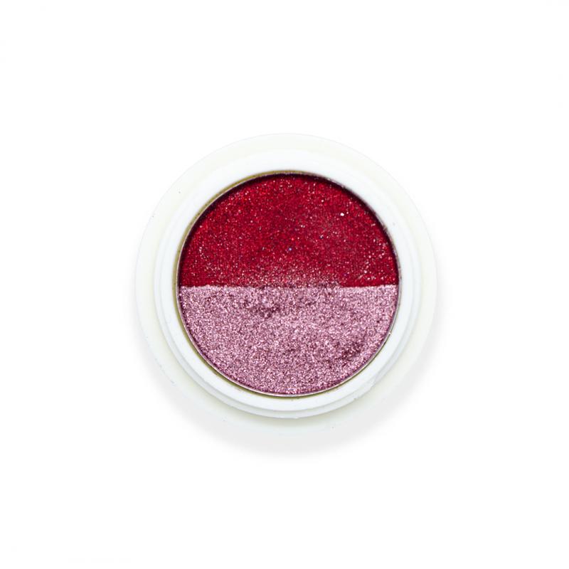 Magic double powder Bordeaux & Pink