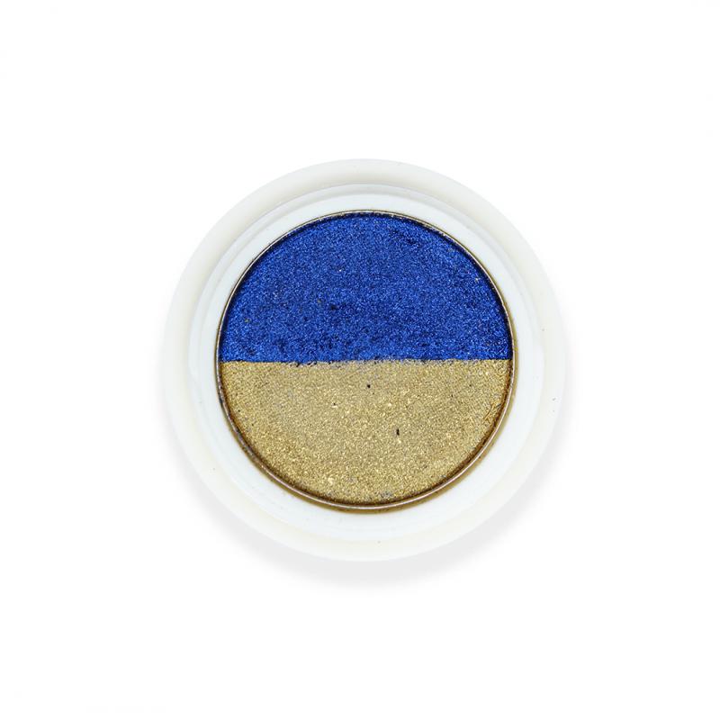 Magic double powder Gold & Blue